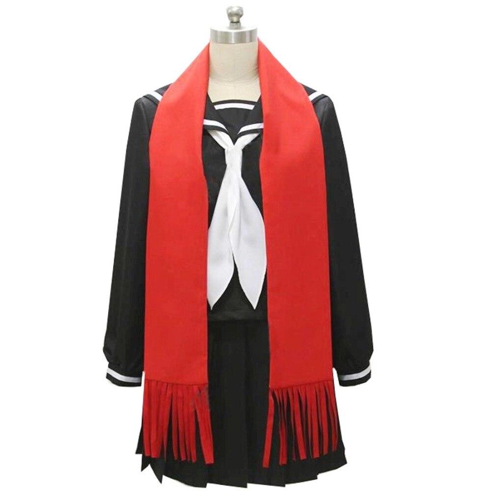 2018 Kagerou projet Tateyama Ayano noir marin costume uniforme robe tenue Anime Cosplay Costumes