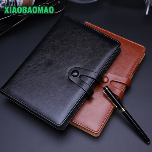 Modern Design 25K A5 Personal Organizer Planner PU Leather Cover Diary Notebook Black / Brown School Officeeryery