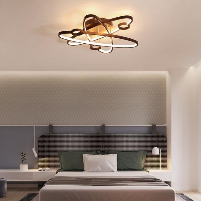lámpara LED Venta modernas techo blanco Cafécolor luces de Yb6fgy7v