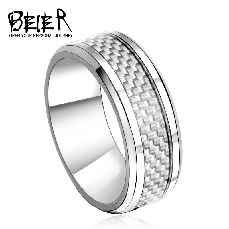 New 2017 Royal Men S Fashion Wedding Ring Stainless Steel High Quality Jewelry Br R004 In Rings From Accessories On Aliexpress Alibaba Group