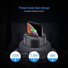 X9 Car Wireless Charger Mobile Phone X8 Qi Charger Stand Charging Pad with USB Output for iPhone 8 iPhoneX Samsung Galaxy S8 S7 usb uv mobile phone sterilizer with usb charging wireless charging for qi suitable for most 6 inch mobile phone watch jewelry