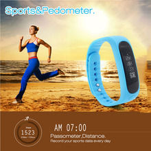 Smart Wrist Watch E02 Smartband Waterproof Bluetooth Fitness Tracker Health Bracelet Sports Wristband Gear For Android IOS Phone