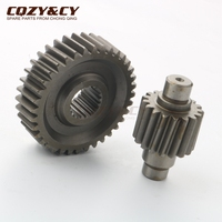 36T 17T 31% Performance Final Drive Gear for ADLY AirTech 125 Cat Mirage Noble Thunderbike Vanguard Virtuality 125cc 4T Scooter