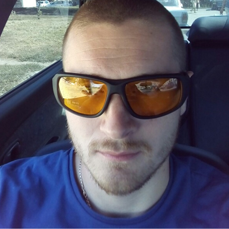 Terbaik jual Pria Terpolarisasi Lensa Kacamata Merek Anti silau Ultraviolet  Pencegahan Goggle Tahan Angin Night Vision Mengemudi Kacamata di Kacamata  Hitam ... e4f245a041