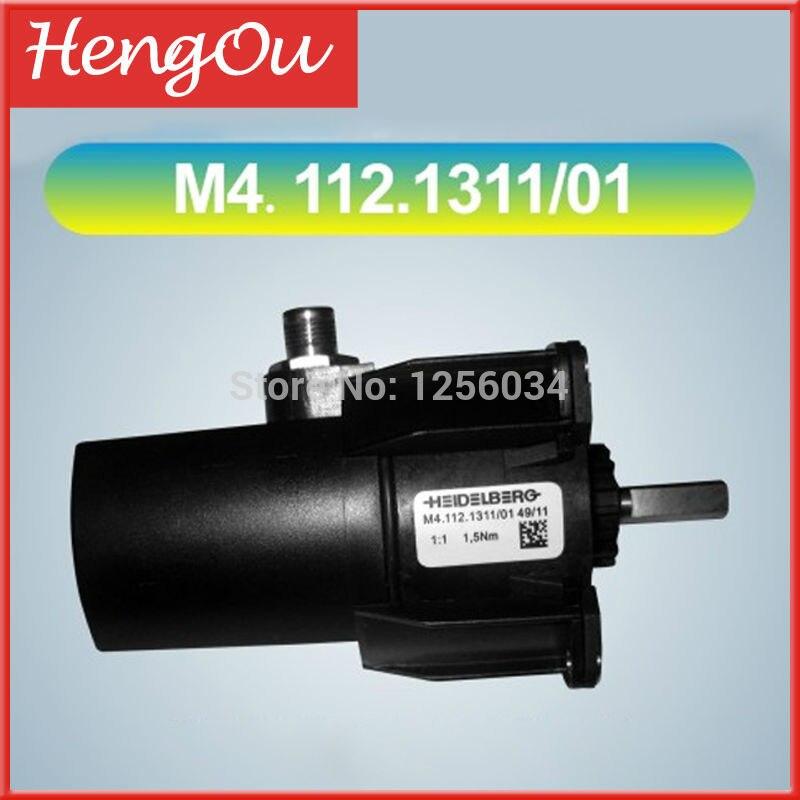 1 piece M4.112.1311/01 Motor for heidelberg SM74 machine 1 piece motor g2 144 1141 for sm74 xl75 heidelberg machine g2 144 1141 a