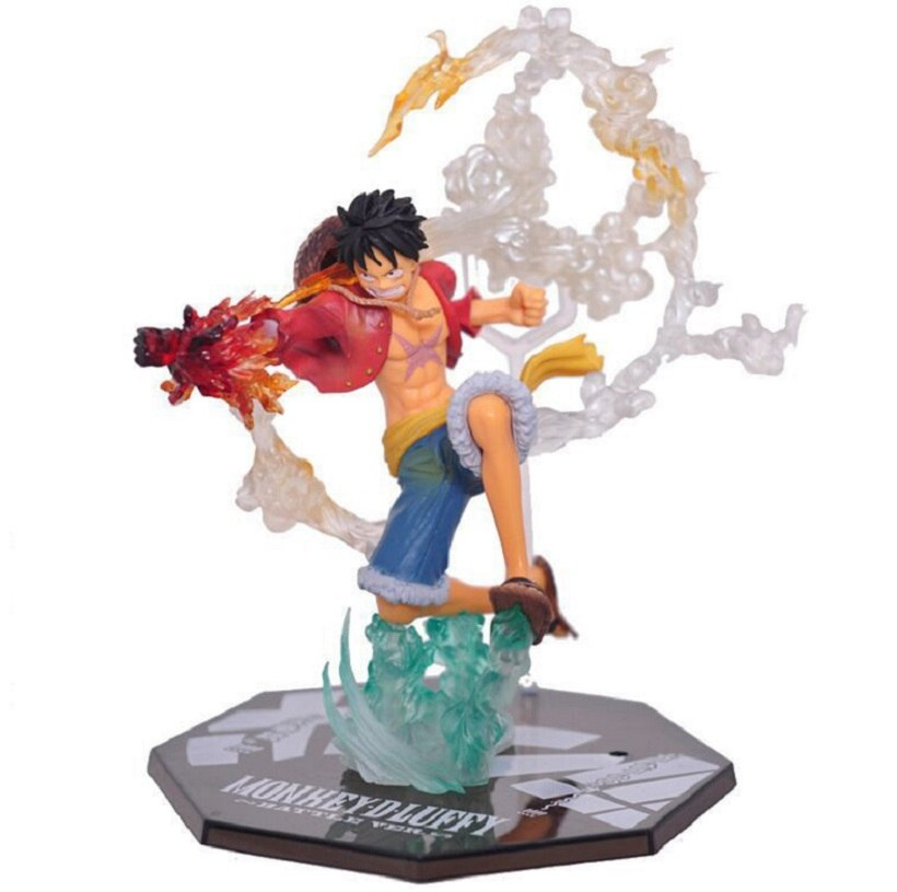 Anime One Piece Affe D Luffy Schlacht Ver Figuarts Null Pvc Roronoa
