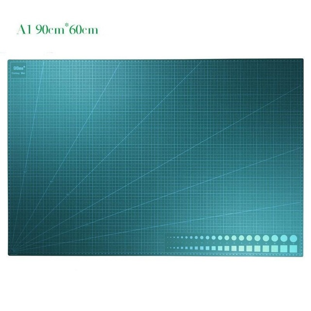 A1 Double faced Cutting Mat Large PVC Cutting Plate White Core;Carve Model Plate Long life 90x60x3cm