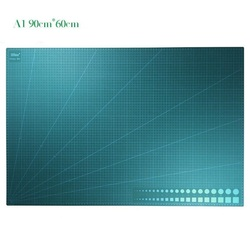 Tapete de corte A1 de doble cara placa de corte de PVC grande núcleo blanco; placa modelo de tallado larga vida 90x60x3cm