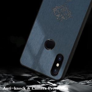 Image 3 - Coque arrière MOFi pour Xiaomi Mi Max 3 Pro Coque rigide pour Mi Max3 Coque en cuir pour boîtier de luxe Xiomi Max