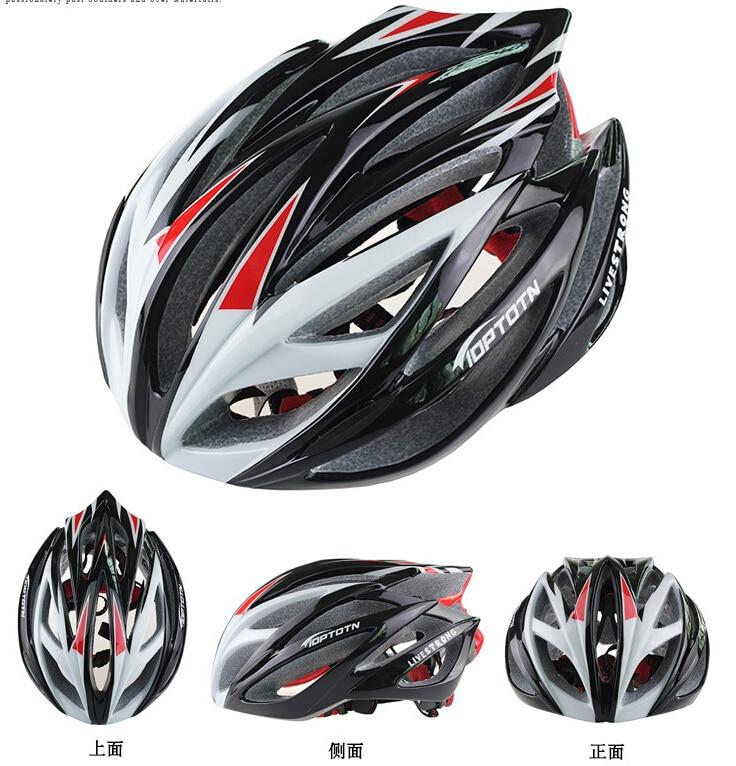 Nova TOPTETN kolesarska kolesarska moška ženska čelada EPS - Kolesarjenje - Fotografija 2