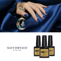 Azure Beauty Nail Gel Polish New Arrival Matt Matte Top Coat Soak off Gel Polish Nail UV Gel Lacquer