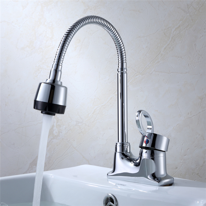 Kitchen Faucet Hot And Cold Water  Universal Faucets Basin Mixer Kitchen Faucets MB8956