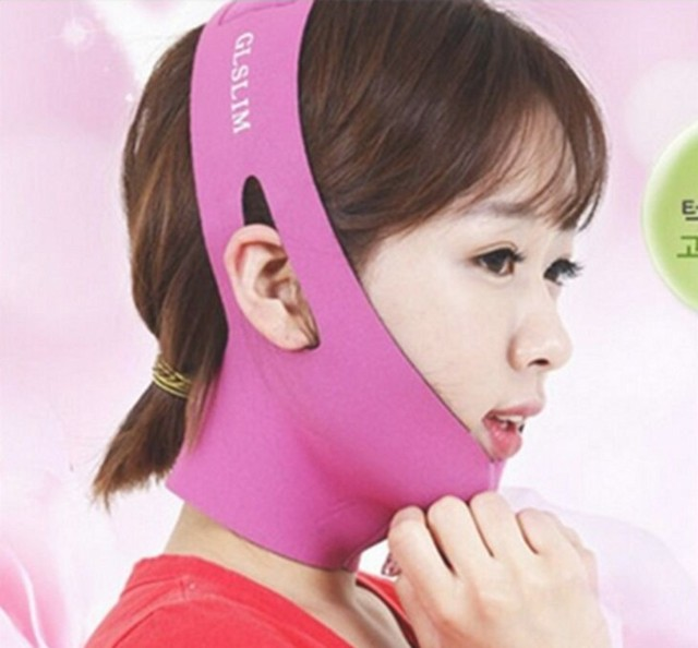 Face Slim V-Line Lift Up Mask Cheek Chin Neck Slimming Thin Belt Strap Beauty Delicate Facial Thin Face Mask Slimming Bandage 4