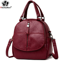 Fashion Small Backpack Female Brand Leather Purse Cute Shoulder Bags for Women Famous 2019 Mochila