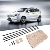 Uv protection side window curtain 2pcs set new black beige cotton fabric car auto 50s sunshade.jpg 200x200