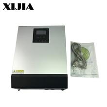 Гибридный инвертор MPPT/PWM 3KVA/5KVA чистый синусоидальный инвертор солнечный инвертор DC24V/48 V К AC 220V для дома/лодки/солнечной батареи