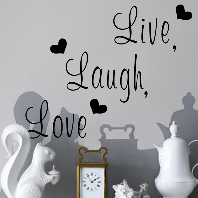 Live Laugh Love Wall Sticker 2