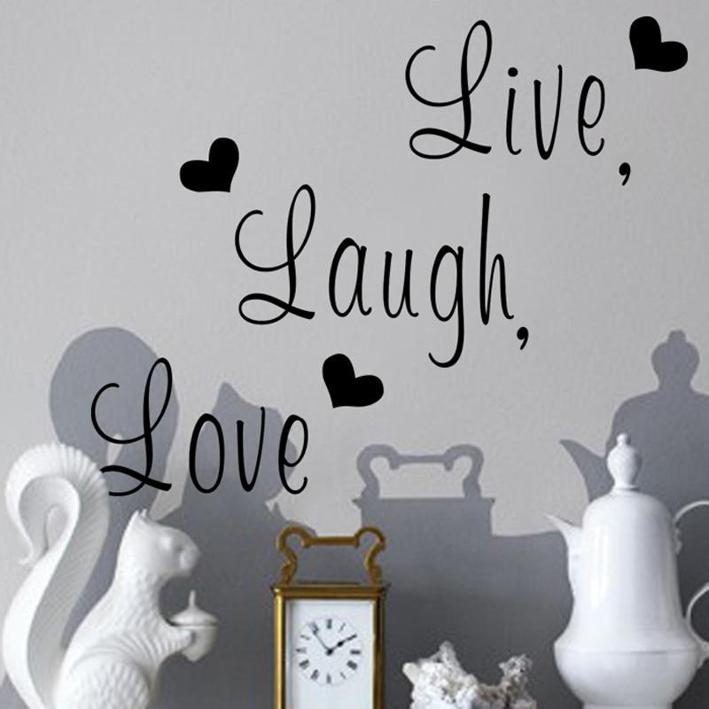 Live Laugh Love Wall Sticker 2