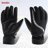 Boodun Waterproof Thermal Women Man Winter Ski Gloves Snowboard Snowmobile Motorcycle Cycling Outdoor Sports