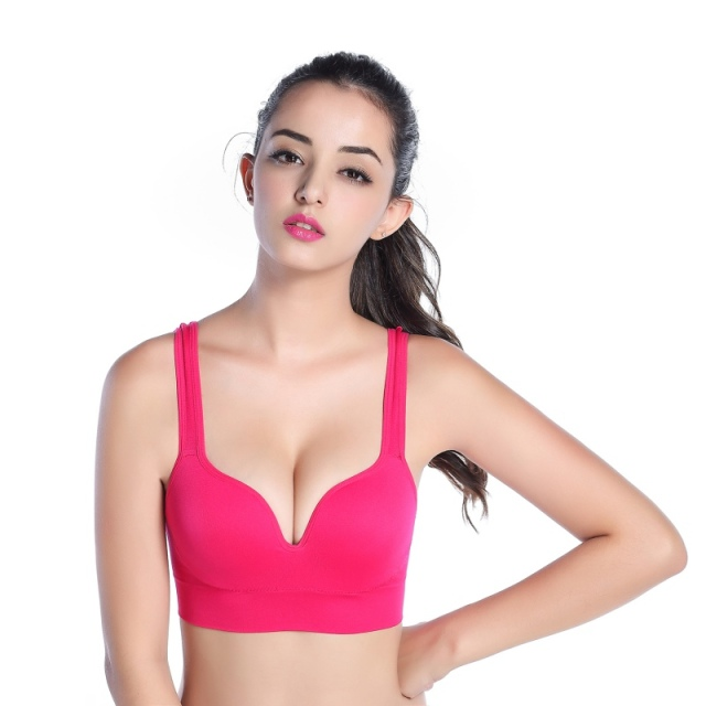 Racerback Seamless Wireless Bra