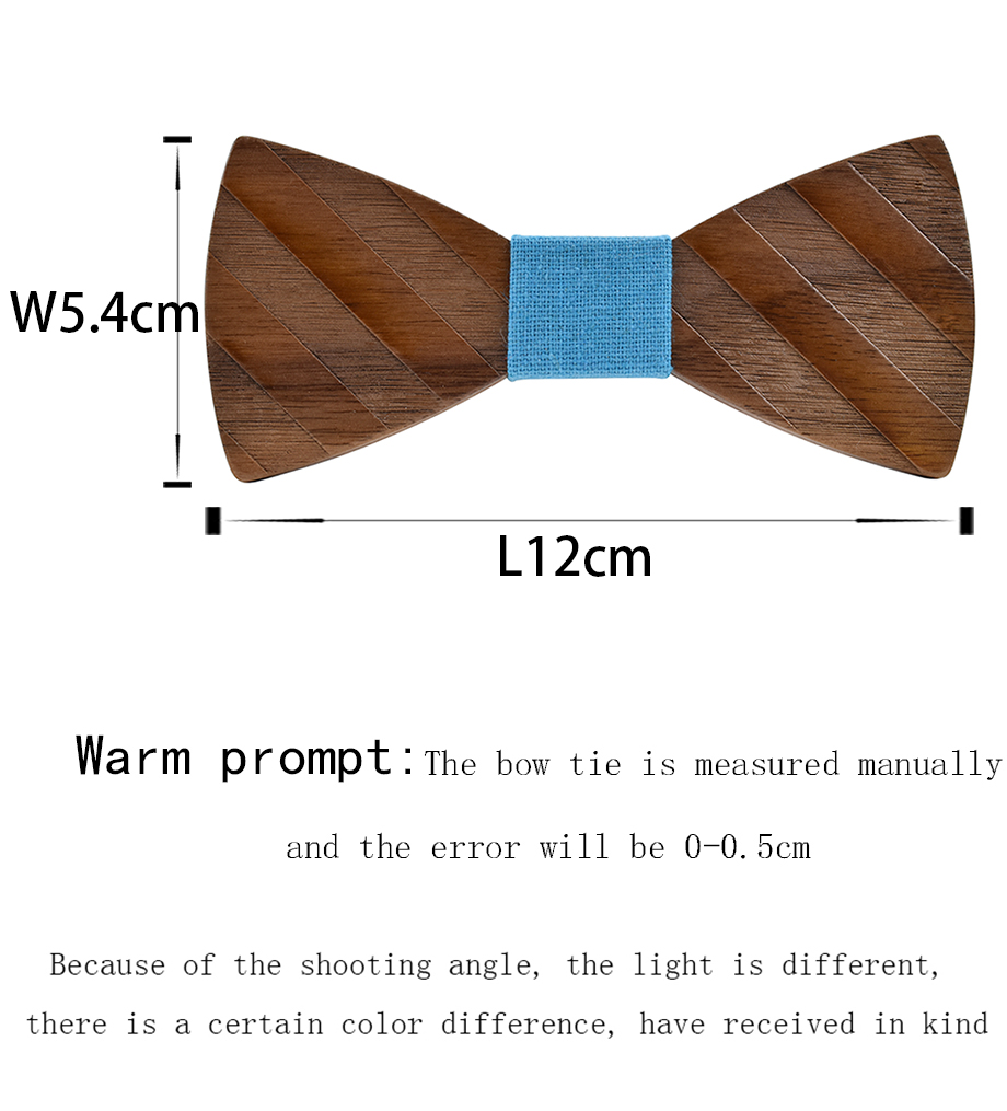 -1_03  ZDJMEITRXDOOW Gravata Wedding ceremony Bow Tie Wood Butterfly For Males's Swimsuit Shirt Necktie Jewerly Accent Informal style bow tie HTB1hsThbk
