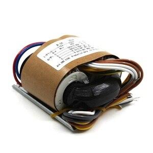Image 2 - 35VA כפול 220 v כפול 6.3 v חמצן משלוח נחושת שנאי 35 w R סוג אודיו מגבר צינור שנאי