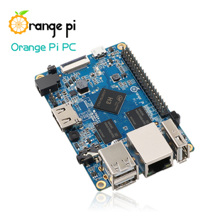 Image 3 - Orange Pi PC SET3 :  Orange Pi PC + ABS Transparent  Case + 4.0MM   1.7MM USB to DC power cable
