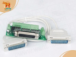 Image 5 - Лидер продаж! 4 осевой шаговый двигатель Wantai Nema 23, двойной вал, фрезерный плазменный станок с ЧПУ DQ542MA 4.2A