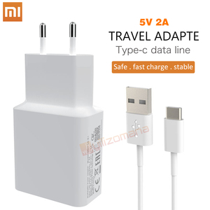 Original Xiaomi 5V 2A EU Charger Micro / Type-C usb cable Charging Adapter For For MI5 max 3S Redmi Note 3 4 pro 4X 5 5S(China)