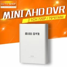 720 P 1CH Mini CCTV AHD DVR Tarjeta SD de la Cámara de Seguridad CCTV Dvr de Detección de Movimiento Grabadora de Vídeo 1280*720