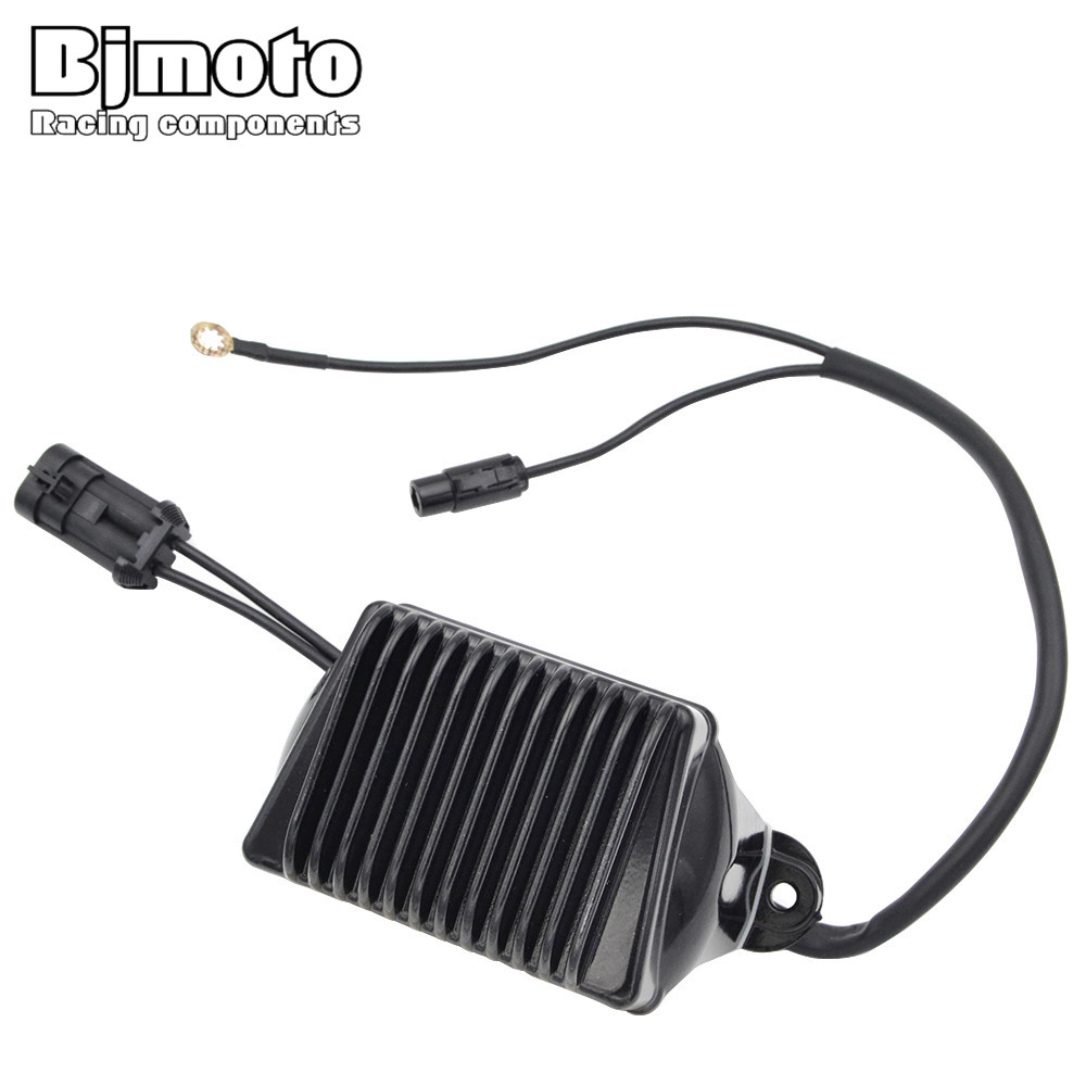 BJMOTO Motorcycle Metal Voltage Regulator Rectifier Motorbike For Harley Electra Glide Classic Road King Custom motorcycle voltage regulator rectifier for harley davidson heritage softail 1450 classic flstc1450 2001 2006 model 74610 01