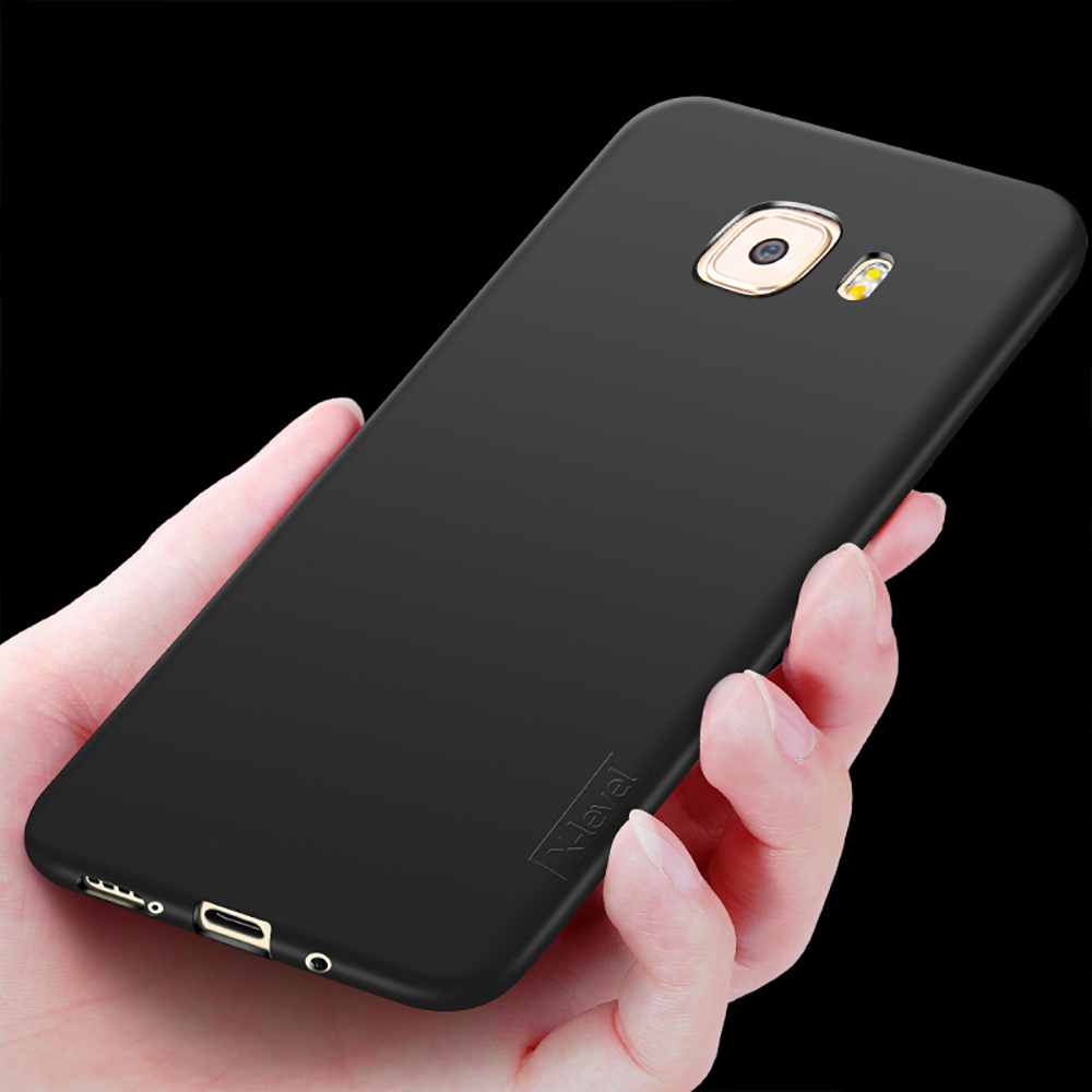 X-Level Guardian thin Soft Matte TPU Case for Samsung Galaxy C9 Pro Scrub Back Cover for Samsung C9 Pro C9000 Silicone Case
