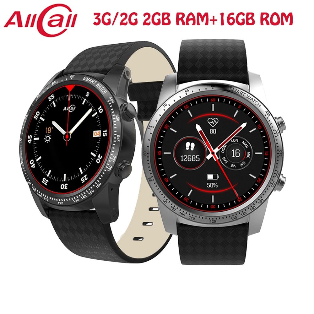 ALLCALL W1 Smartwatch Telefon Android 5.1 Bluetooth 3g verbinden uhr MTK6580 Quad Core 1,3 ghz 2 gb/16 gb GPS Smart Handy Uhren