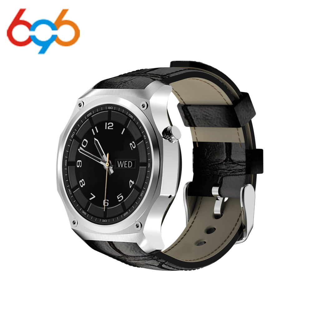 696 Y5 New Smartwatch for Android 5 1 System Stainless Steel HD Round Watch Fitness Sleep