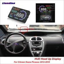 Liandlee автомобильный HUD Дисплей для Citroen Xsara Picasso 2012- безопасный экран вождения полная функция OBD проектор лобовое стекло