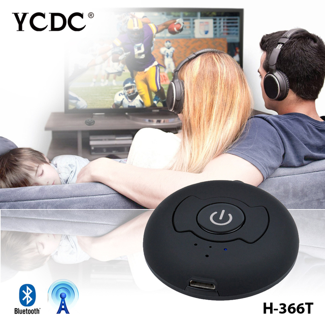 Bluetooth Transmitter V4.0 H-366T For Speakers Audio TV Headphones 3.5mm for TV Smart PC MP3 Headphone