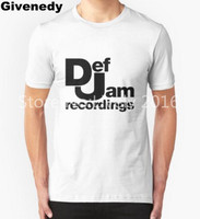 New Summer Def Jam Recordings T Shirts Men Retro Music Casual Tees Short Sleeve O Neck