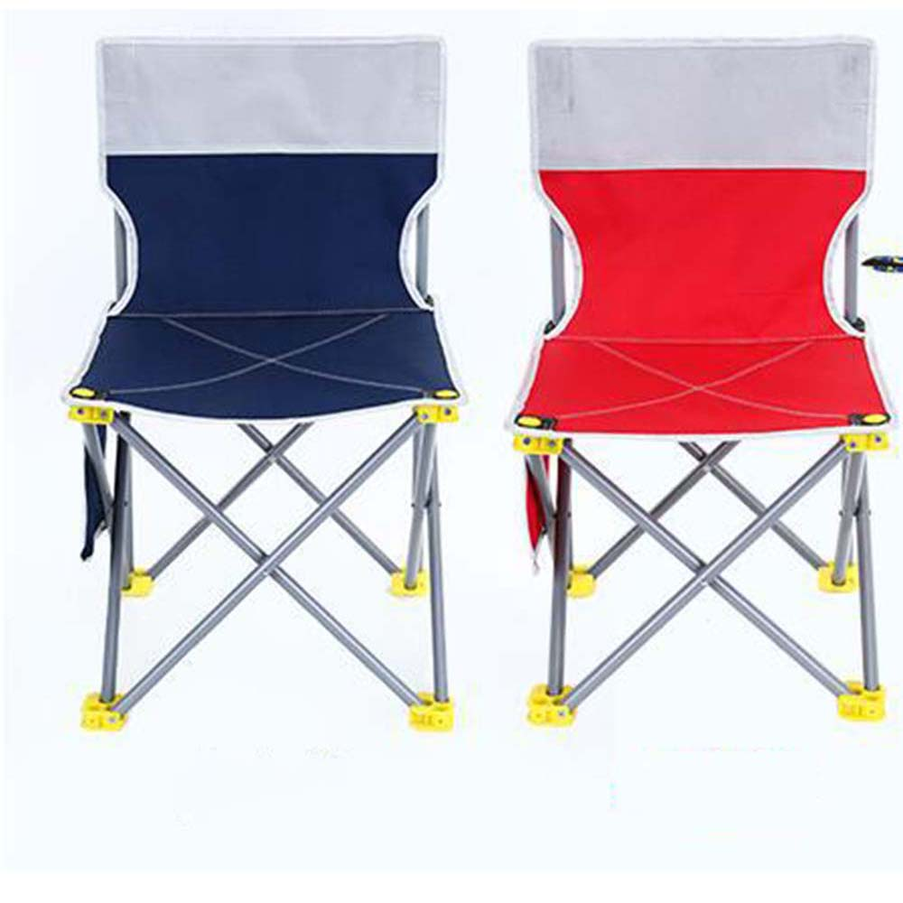 Outdoor Folding Fishing Chair Camping BBQ Seat Folding Extended chair fishing supplies Portable nature paint draw chair 3 sizes