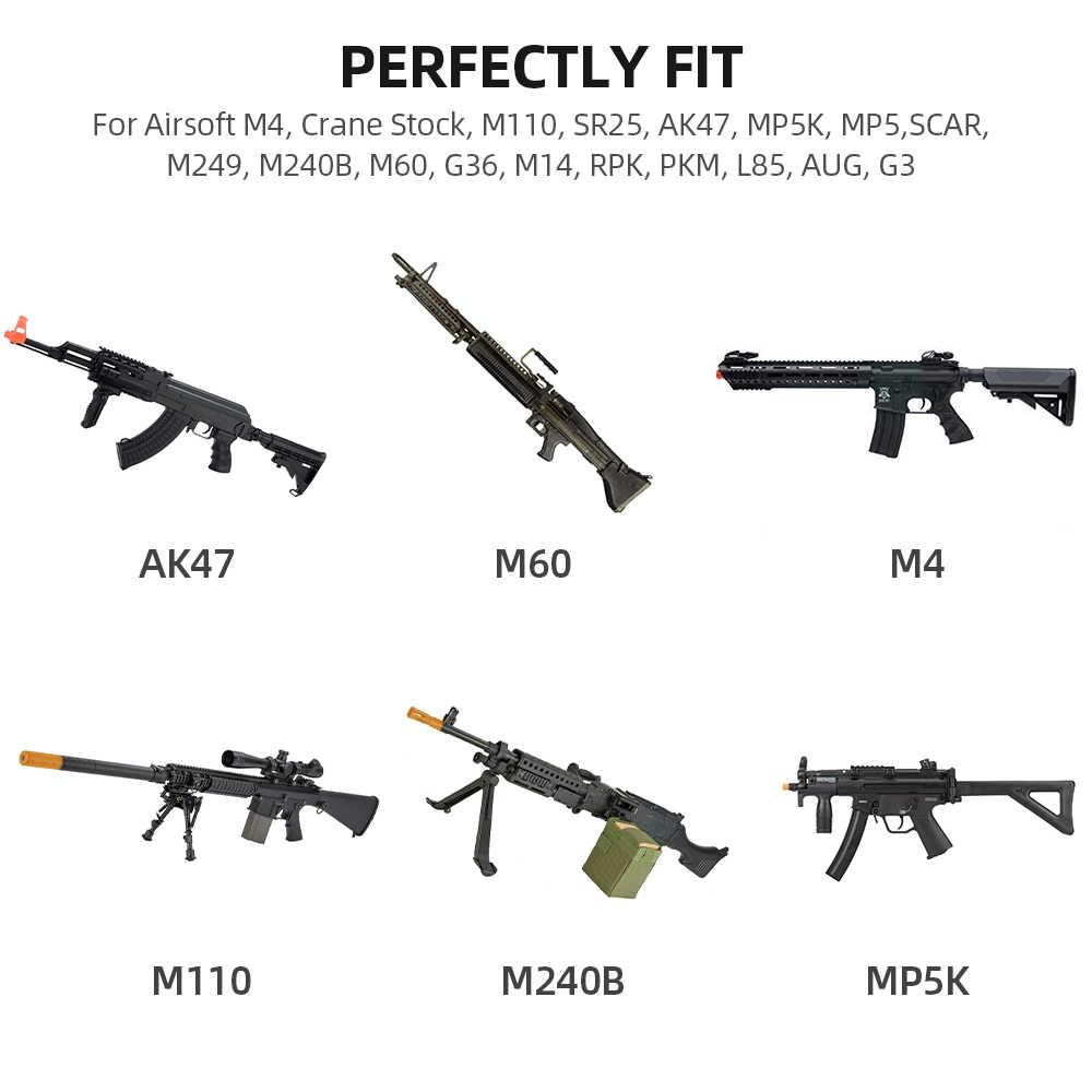 7,4 V 1200 mAh литий-полимерный Батарея для страйкбола M4 кран запас M110 SR25 AK47 MP5K MP5 шрам M249 M240B M60 G36 M14 RPK ПКМ L85 Авг G3