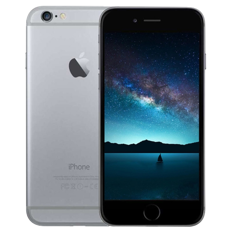 Reconditionné Apple iPhone 6 double Core 4,7 pulgadas 1 GB RAM 16GB ROM 8MP Cámara WCDMA LTE IPS IOS desbloqueado usado Smartphone
