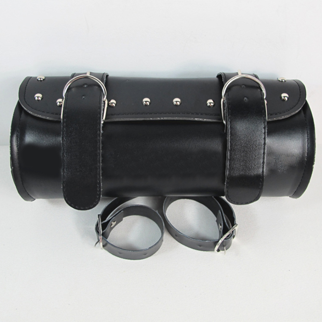 Dewtreetali Fashion Motorcycle PU Leather Saddlebag Saddle Tool Pouch Side Bag Harley Cruiser Storage Pouch Moto Styling