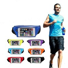 6.0 Jogging Sport Fanny Pack TravelSports Gym Waist Belt Bag Case Cover for iphone 6 Plus(China)