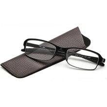 TR90 Comfy Stretch Reading Glasses Men Resin Lens Diopter Glasses 1.0 1.5 2.0 2.5 3.0 3.5 4.0 Super Light Leesbril Presbyopia