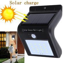 16 led Outdoor Solar Sensor LED Light PIR Motion Sensor solar lamp