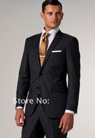 FREE shipping/high quality men's suits fashion business suit set wedding dress for men groom wear coat pant /custom tuxedo,suit