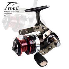New Arrival 5+2BB High Quality Metal Spool Spinning Fishing Reel Fish Wheel Freshwater/Saltwater 5.2:1