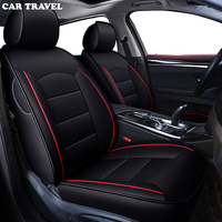 CAR TRAVEL Custom real leather car seat cover For opel astra j insignia vectra b meriva vectra c mokka auto accessories covers