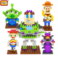 LOZ Toy Story Action blocks ego legoe star wars duplo lepin toys stickers playmobil castle starwars orbeez figure doll car bri