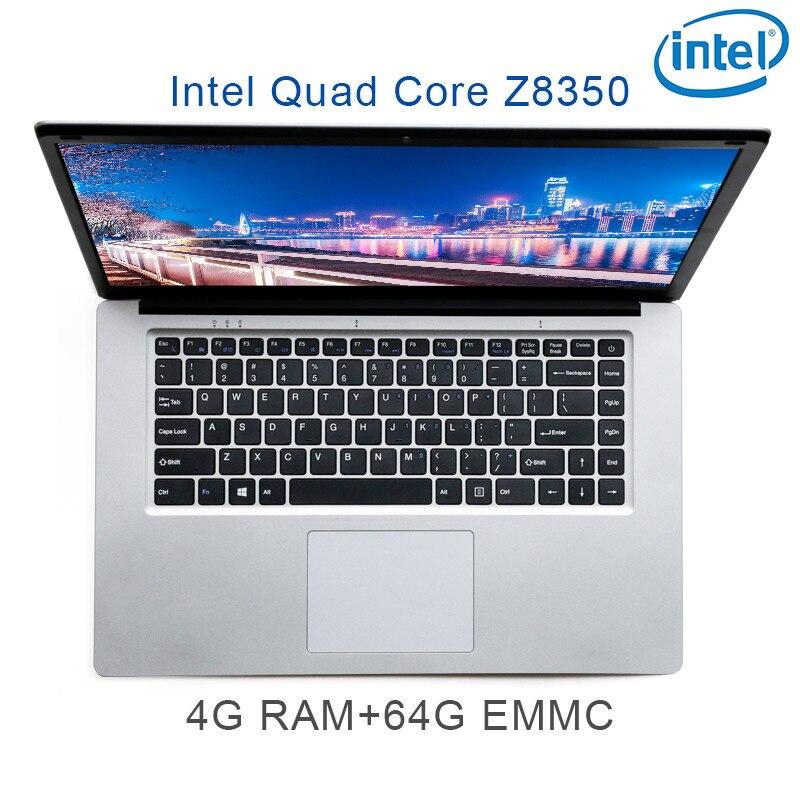 P2-02 prata Z8350 4G 64G EMMC RAM Intel Atom 15.6