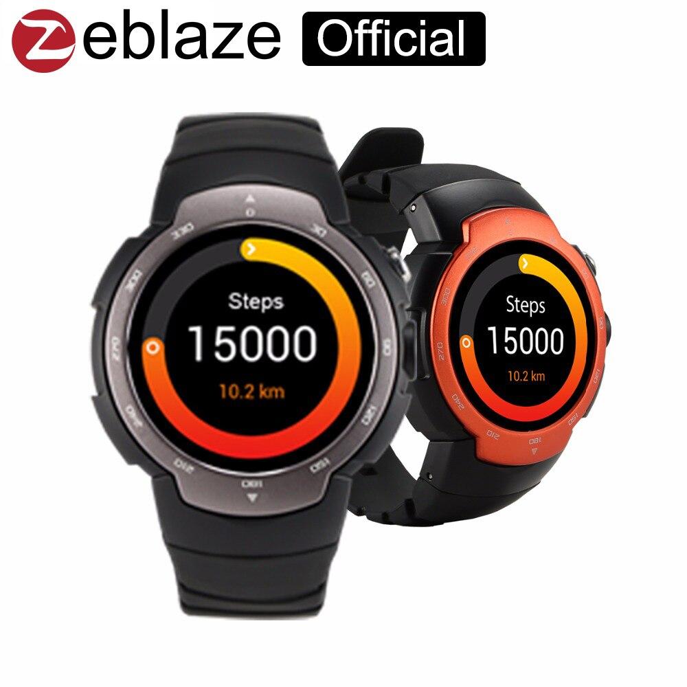 Zeblaze Blitz Smart Watch Phone support font b Android b font 5 1 MTK6580 512 4G